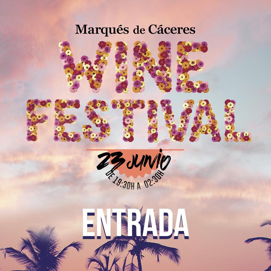 Entrada Wine Festival MC 2018