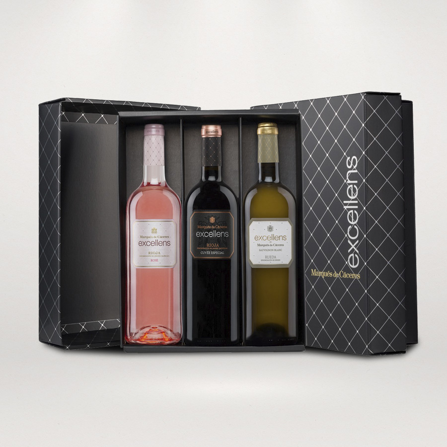 Excellens wine gift pack 3 bottles